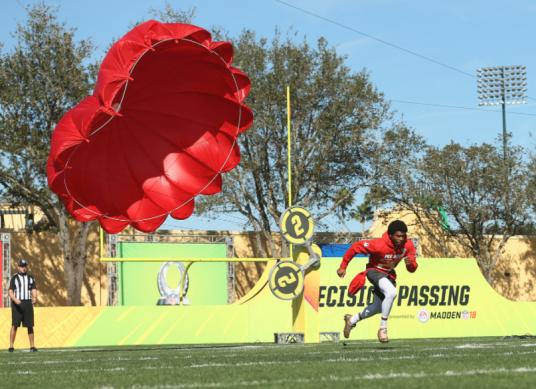 parachute run